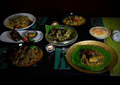Mixed dishes